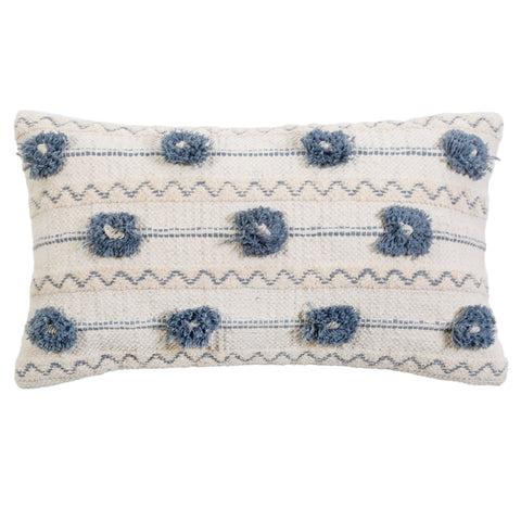 Izzy Handwoven Pillow with Insert
