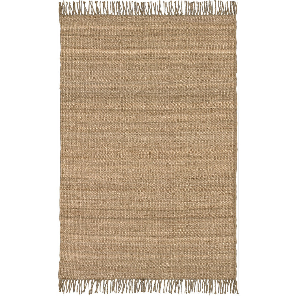 Jute JUTE NATURAL Hand Woven Rug in Wheat by Surya