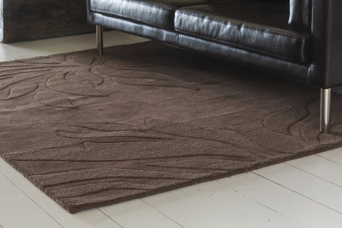Jaipur Collection Hand-Tufted Area Rug in Brown design by Chandra rugs
