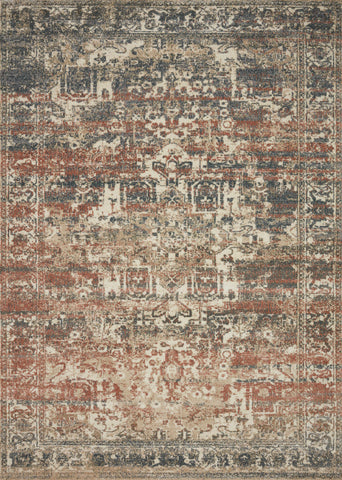 Jasmine Rug in Natural / Multi by Loloi