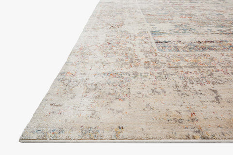 Javari Rug in Ivory & Granite by Loloi