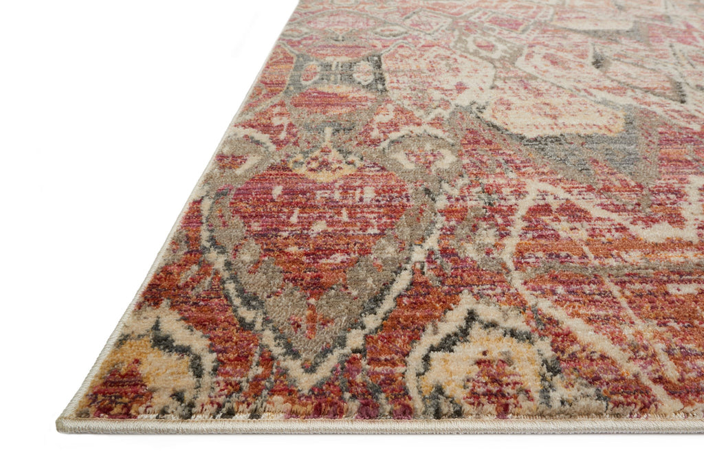 Javari Rug in Berry & Ivory by Loloi
