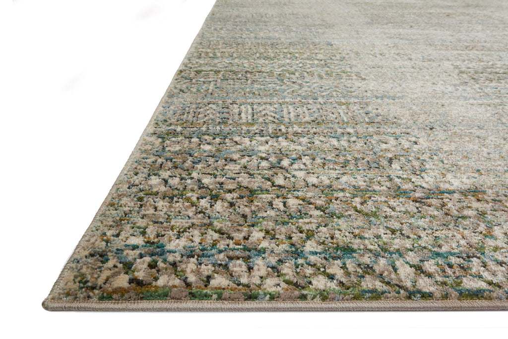 Javari Rug in Ivory & Sea by Loloi