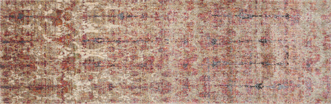 Javari Rug in Drizzle & Berry by Loloi
