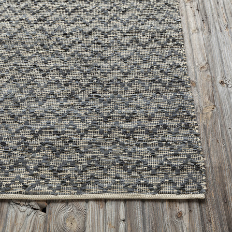Jazz Collection Hand-Woven Area Rug in Tan & Grey design by Chandra rugs