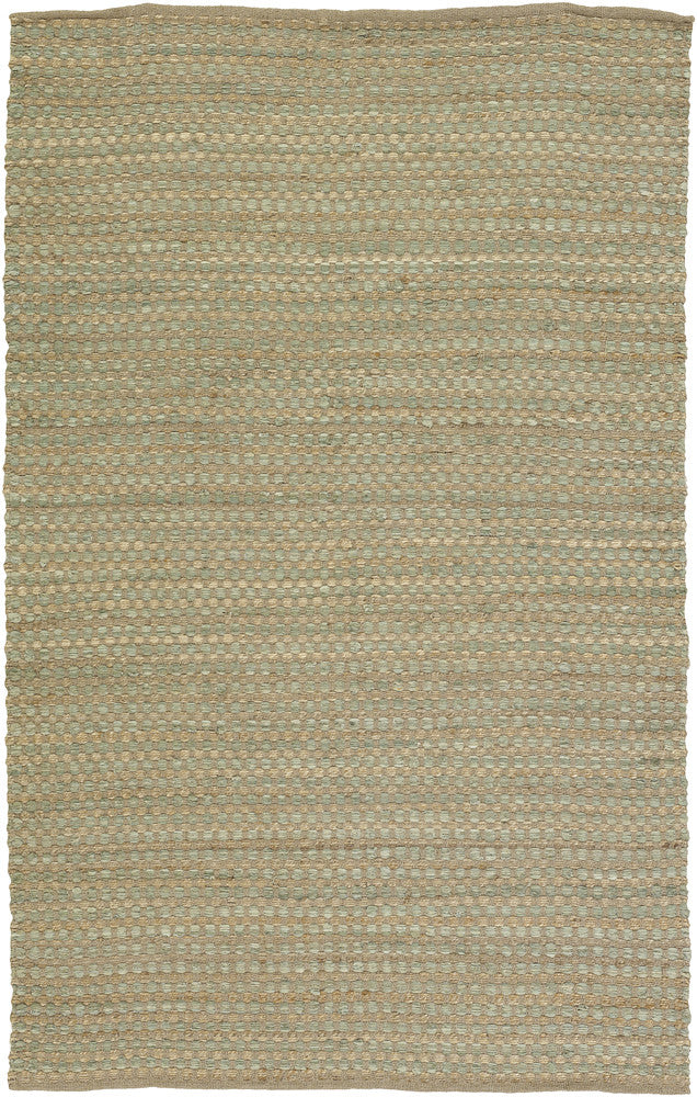 Jazz Collection Hand-Woven Area Rug in Tan & Green design by Chandra rugs