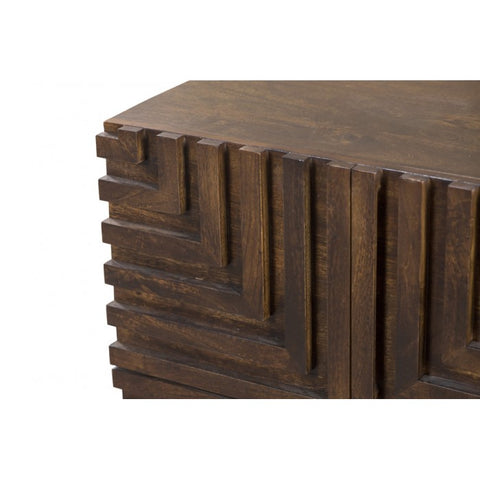 Maze Wood Night Stand by BD Studio III