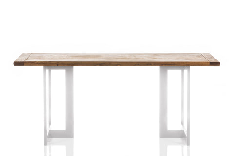 Jesse Beauchamp Collection Table in White design by Chandra rugs
