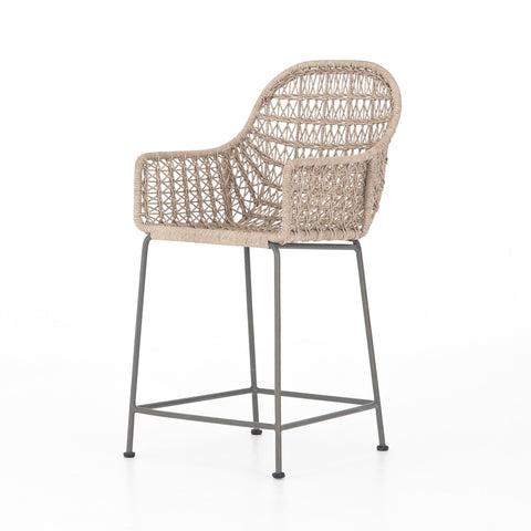 Bandera Outdoor Woven Counter Stool