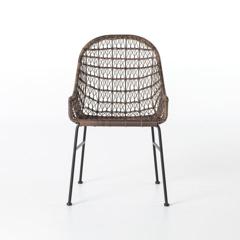 Bandera Outdoor Dining Chair in Distressed Grey
