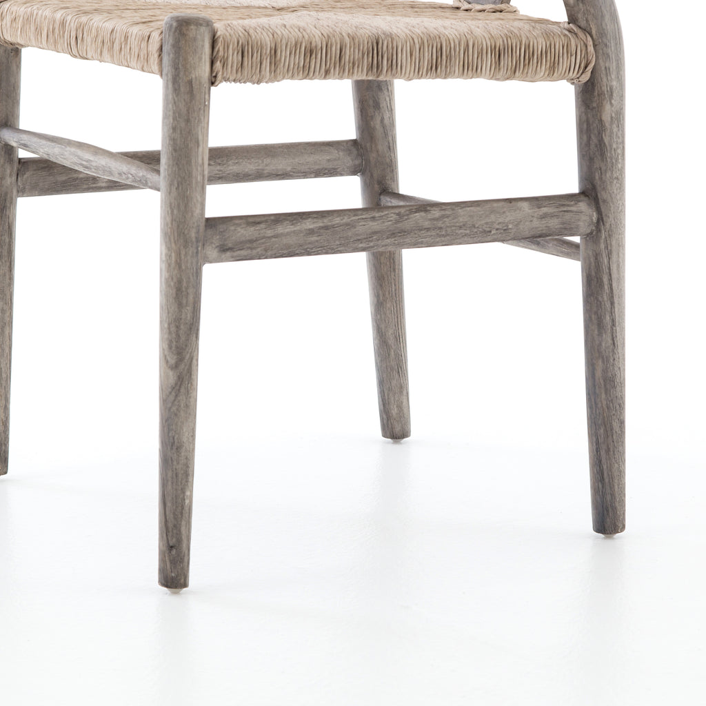 Muestra Dining Chair in Weathered Grey Teak