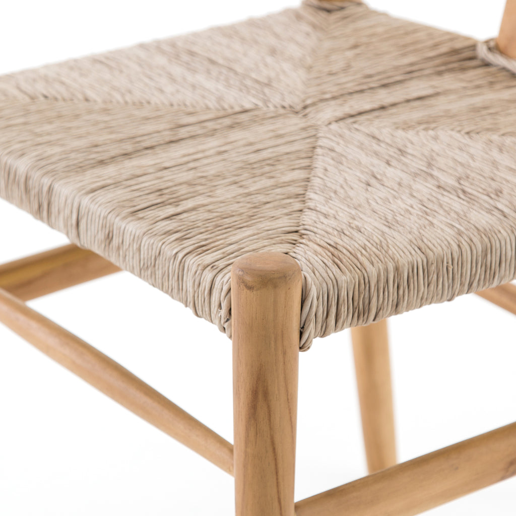 Muestra Dining Chair in Natural Teak by BD Studio