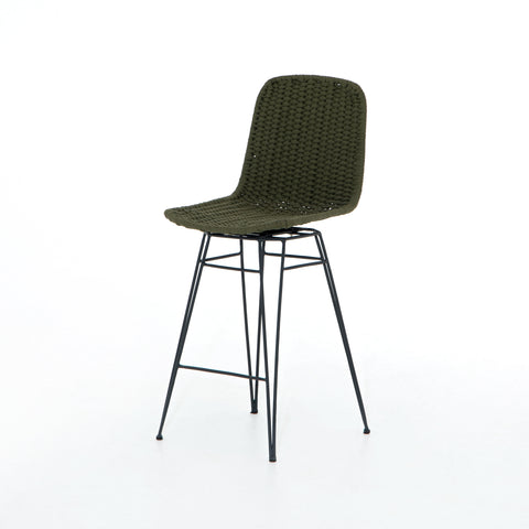 Dema Outdoor Swivel Counter Stool