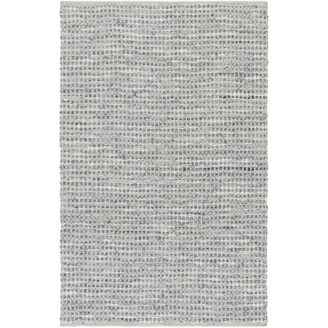 Jamie JMI-8001 Hand Woven Rug in Teal & Denim by Surya