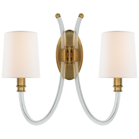 Clarice Double Sconce by Julie Neill