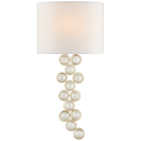 Milazzo Medium Left Sconce by Julie Neill