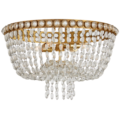 Navona Large Basket Flush Mount by Julie Neill