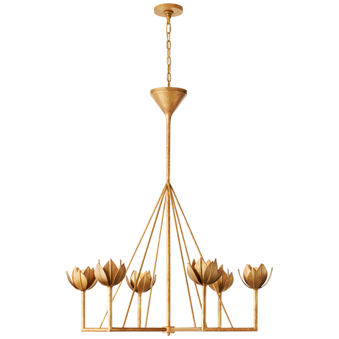 Alberto Large Single Tier Chandelier by Julie Neill