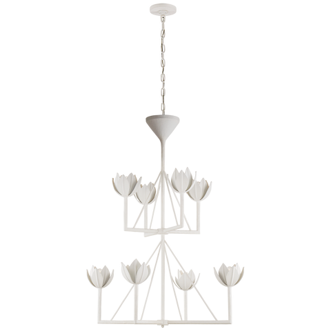 Alberto Medium Two Tier Chandelier by Julie Neill