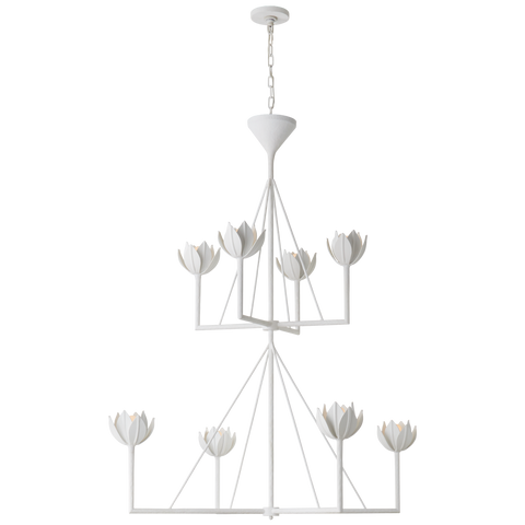 Alberto Large Two Tier Chandelier by Julie Neill