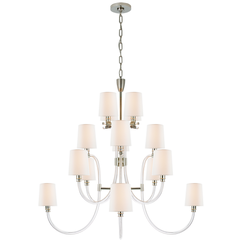 Clarice Large Chandelier by Julie Neill
