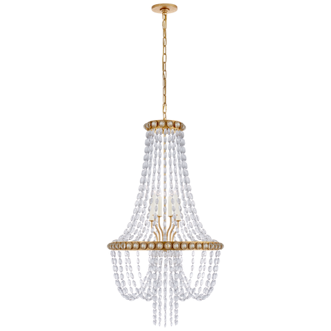 Navona Medium Basket Chandelier by Julie Neill