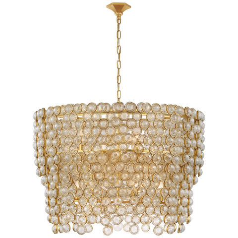 Milazzo Large Waterfall Chandelier by Julie Neill