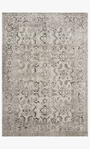 Joaquin Rug in Silver & Grey by Loloi