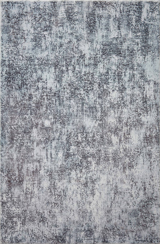 Joelle Rug in Fog / Graphite by Loloi II
