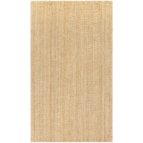 Jute Woven JS-1000 Hand Woven Rug in Wheat by Surya