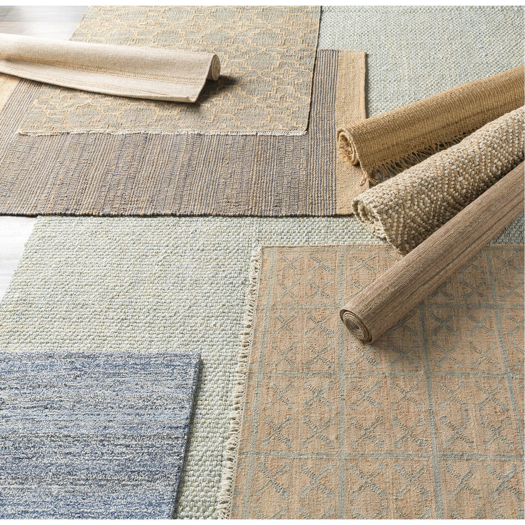 Laural LRL-6014 Hand Woven Rug in Khaki & Sage by Surya