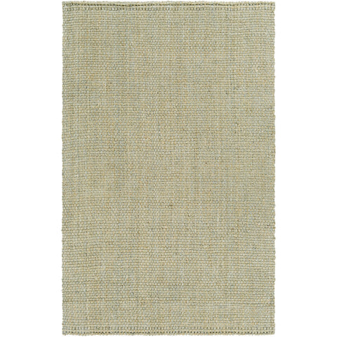 Jute Woven JS-220 Hand Woven Rug in Light Gray by Surya