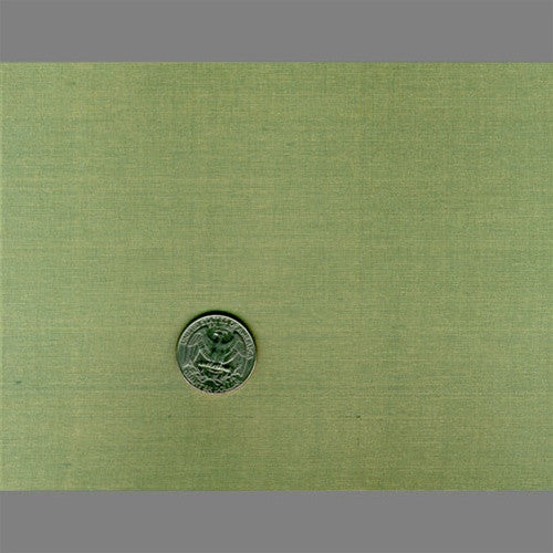 Olive Green Japanese Natural Silk Wallpaper by Burke Decor