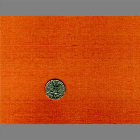 Orange Japanese Natural Silk Wallpaper by Burke Decor