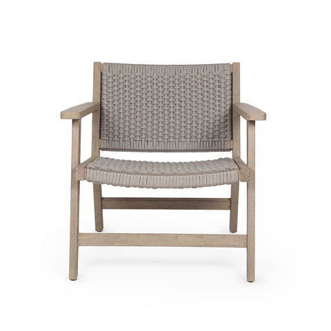 Delano Outdoor Chair in Washed Brown by BD Studio