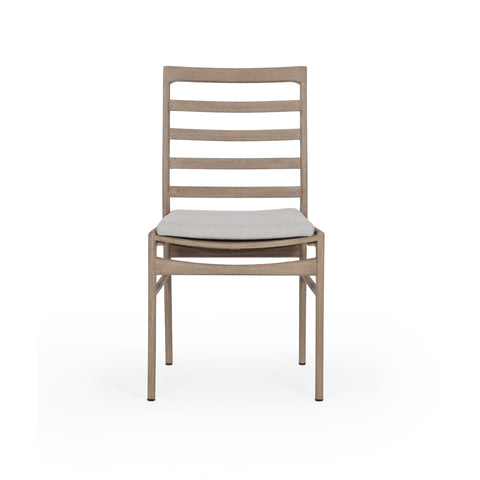 Linnet Outdoor Dining Chair in Washed Brown