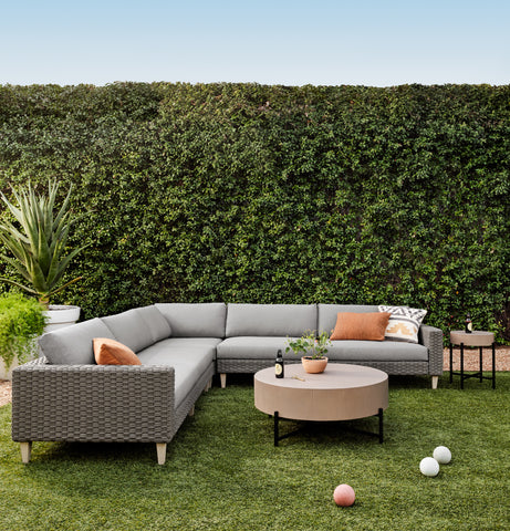 Remi Outdoor 3 Piece Sectional