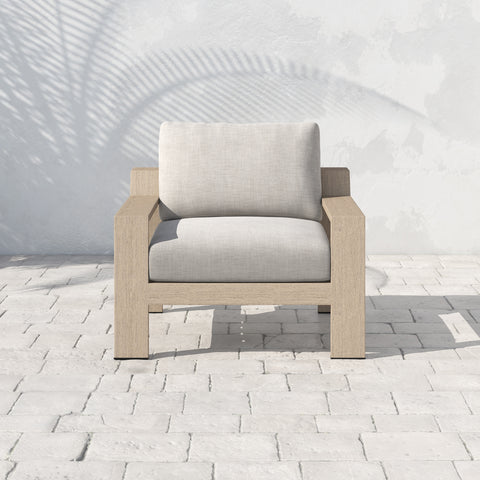 Monterey Outdoor Chair In Washed Brown