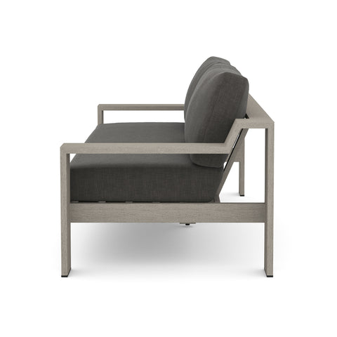 Monterey Outdoor 2 Seater Sofa in Weathered Grey