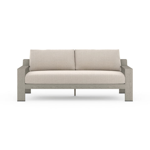 Monterey Outdoor 2 Seater Sofa - Weathered Grey
