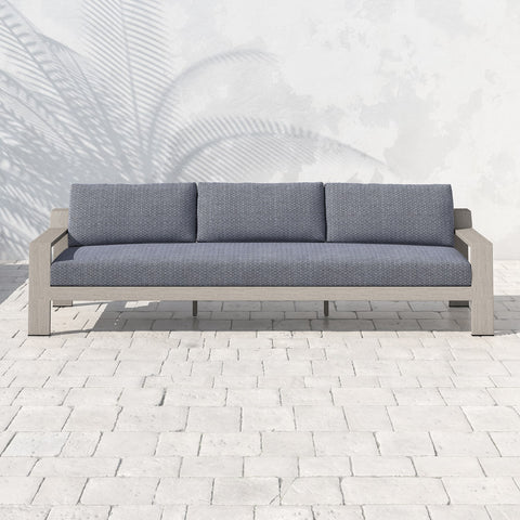 Monterey Triple Seater Sofa - Weathered Grey