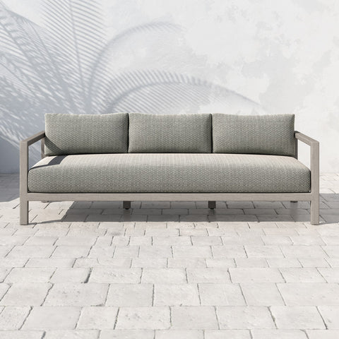 Sonoma Triple Seater Sofa Weathered Grey