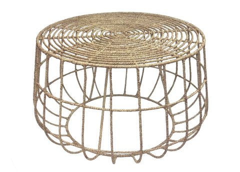 Jute Coffee Table by Selamat