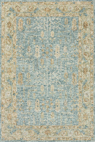 Julian Rug in Blue & Gold by Loloi
