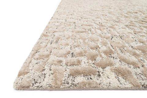 Juneau Rug in Ash & Taupe by Loloi