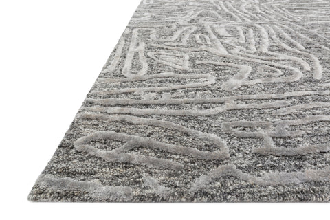 Juneau Rug in Grey by Loloi