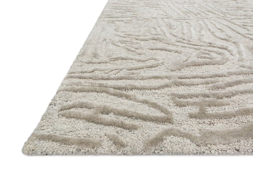 Juneau Rug in Silver by Loloi