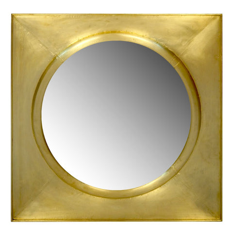 Justinian Clad Square Mirror design by Selamat