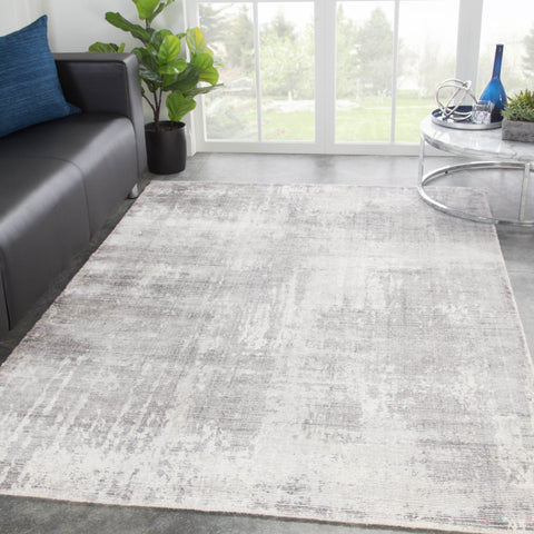 Arabella Abstract Rug in Star White & Smoked Pearl design by Jaipur