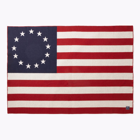 Betsy Ross Flag Throw design by Faribault